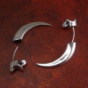 Antique Eagle Talon Earrings